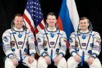 International Space Station Expedition 27 Official Crew Portrait #2